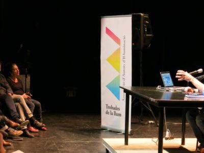 12º encuentro de la Luz en el TNC de Barcelona con David Bofarull y Albert Faura.